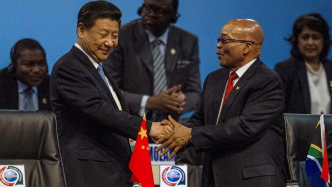 Africa-China exports fall by 40% after China slowdown