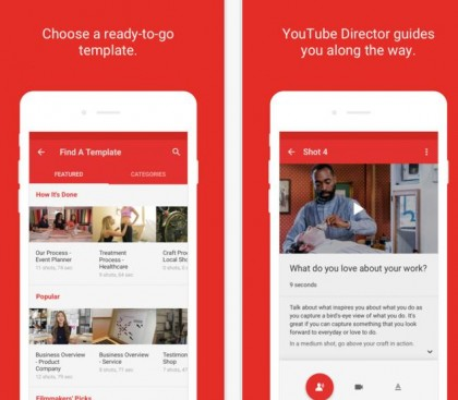 YouTube Releases New 'YouTube Director' App to Help Businesses Create Better Video Content