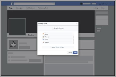 Facebook-page-design-screenshot