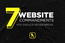 7 Commandments of Websites