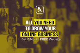 FREE WEBSITE FOR 6 MONTHS